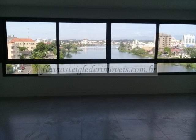 Apartamento com bela vista da Lagoa a venda em Torres RS